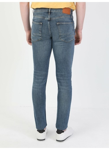 Colin's 035 Ryan Skinny Fit Yüksek Bel Erkek Jean Pantolon İndigo